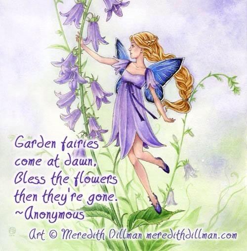 Garden fairies Angelic Guidance by Mis M